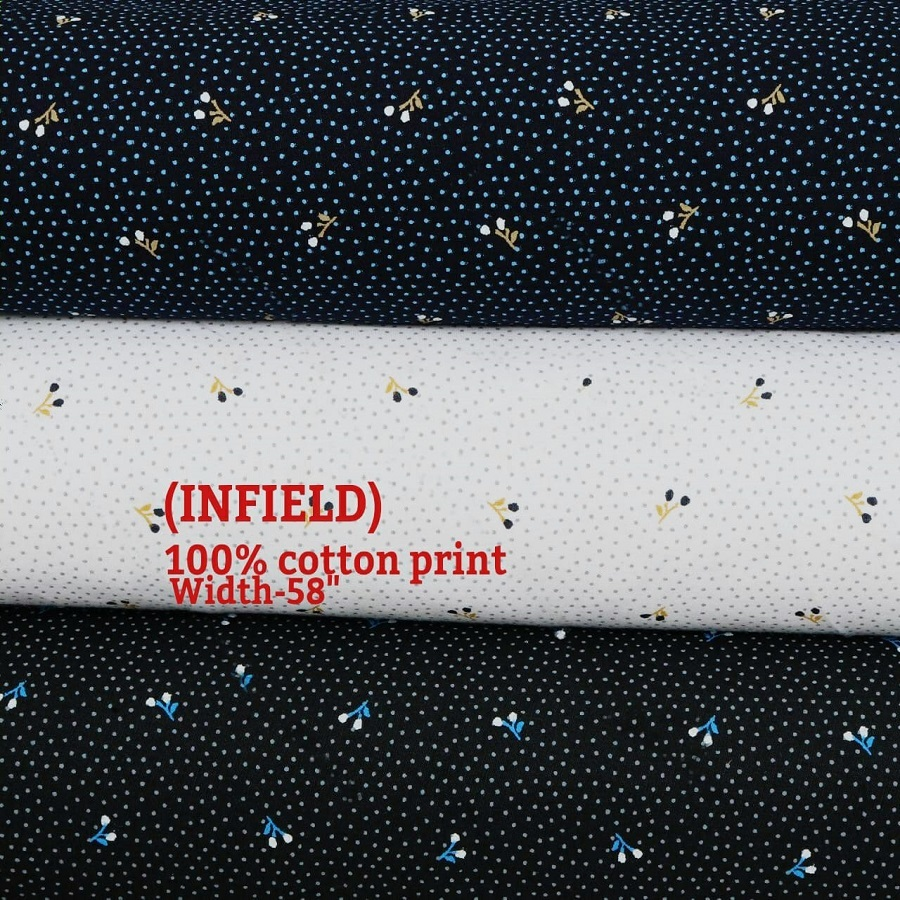 INFIELD 100% cotton fabric