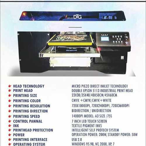 Value dtg -Garment digital printing machine