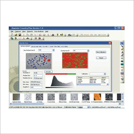 METALLURGICAL IMAGE ANALYZER