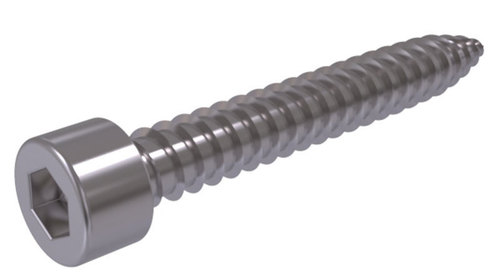 DIN 912bl Sheet metal screws with hexagon socket