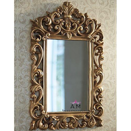teak wood mirror frame