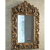 teak wood mirror frame