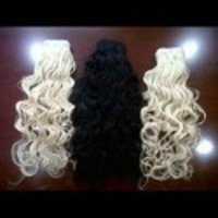 HUMAN HAIR EXTENSION LOOSE CURLY