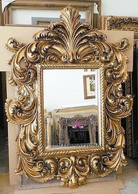 heavy carving wooden frame