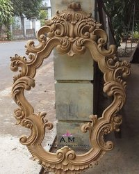 hand made wooden frame
