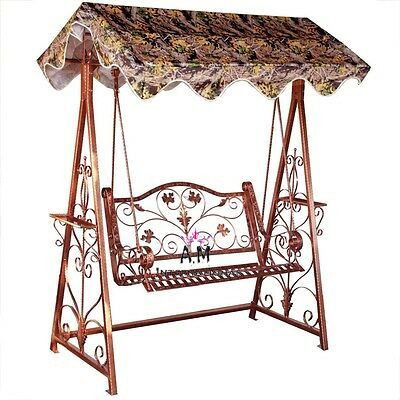 antique wrought iron swing