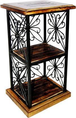 wrought iron stool