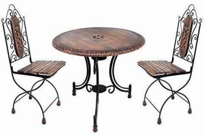 wrought iron table set