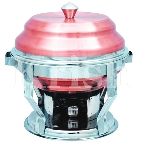 Copper Bottom Pagoda Chaffing Dish