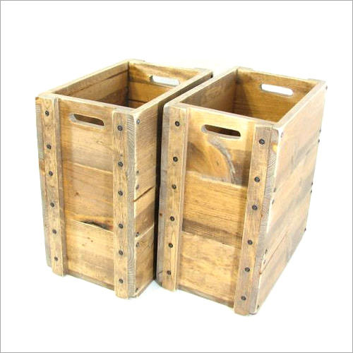 Wooden Boxes for Warehouses