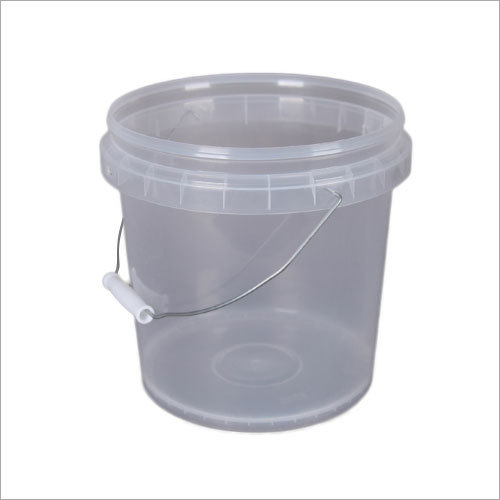 Transparent Plastic Bucket