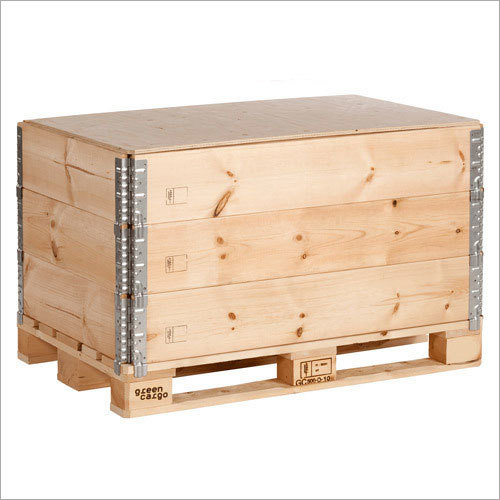 Wooden Pallet Box Collars