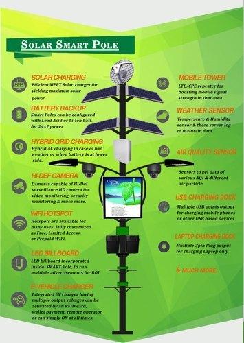 Smart Solar Pole