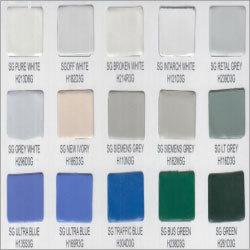 Epoxy Polyester Semi Glossy Finish
