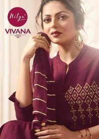 Pure Viscose Top With Bottom Dupatta