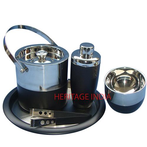 Stainless Steel Bar Set
