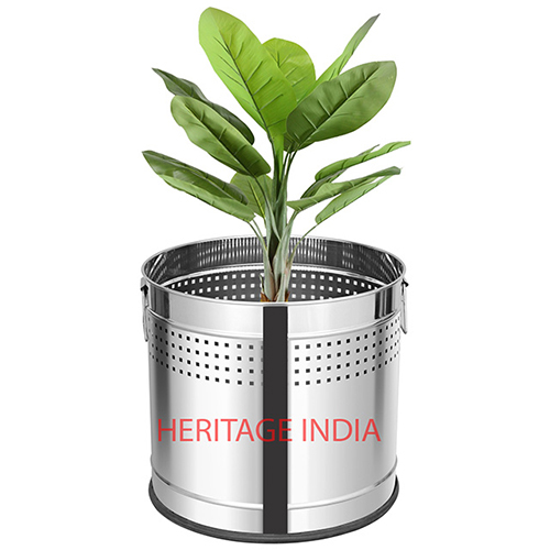Stainless Steel Perforated Planter