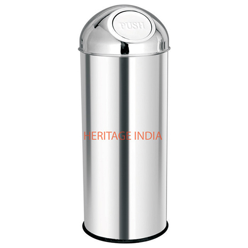 Stainless Steel Push Bin