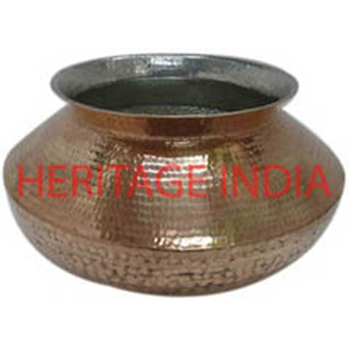 Copper Tin Plated Heavy Cooking Pot