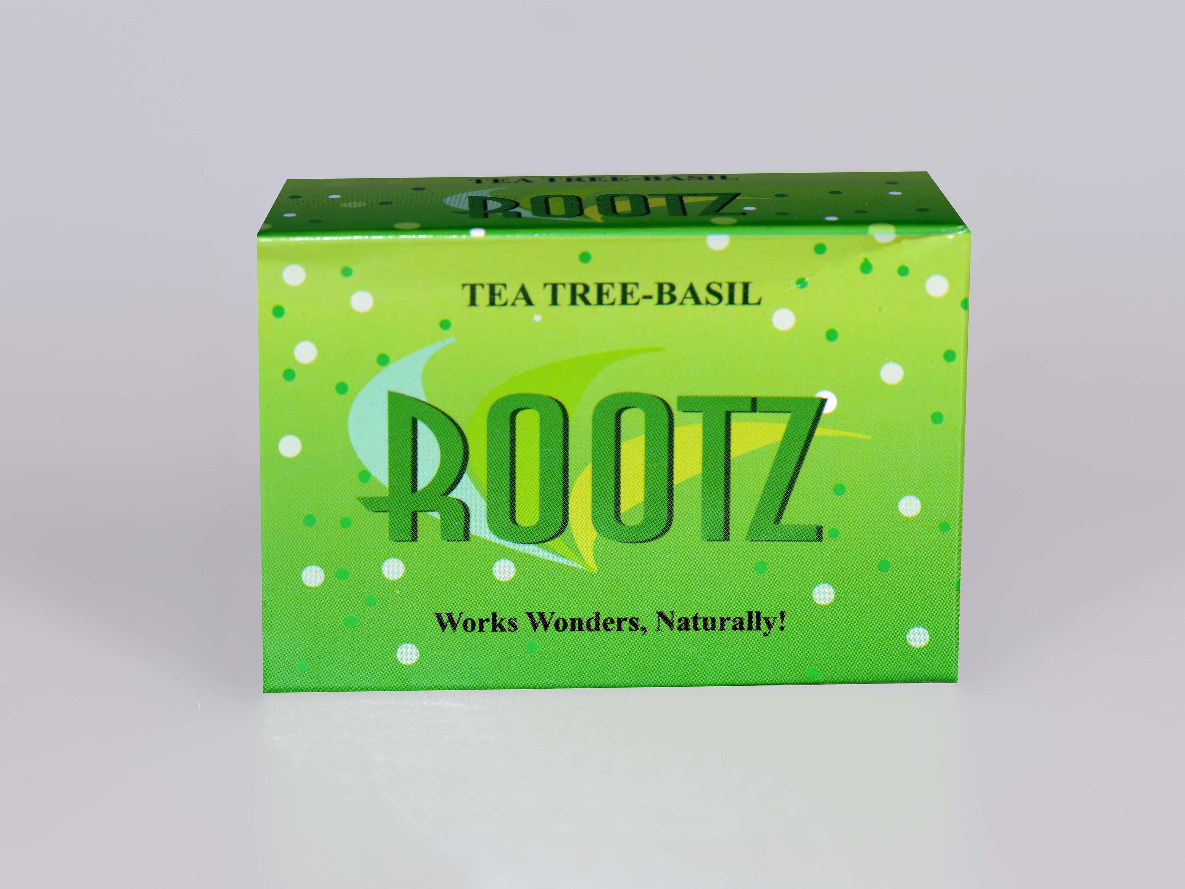 Rootz Tea Tree-Basil Soap
