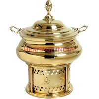 8 Ltr Brass Chafing Dish