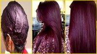 Professional Burgundy Henna Hair Color