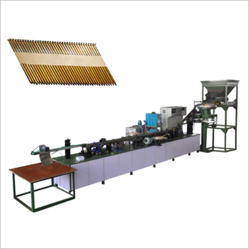 D Head Paper Strip Nail Making Machine