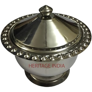Stainless Steel Date Bowl