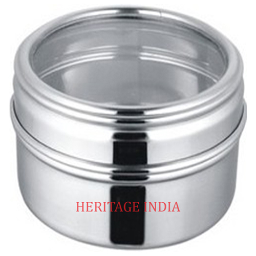 Stainless Steel Cake Storage Tin