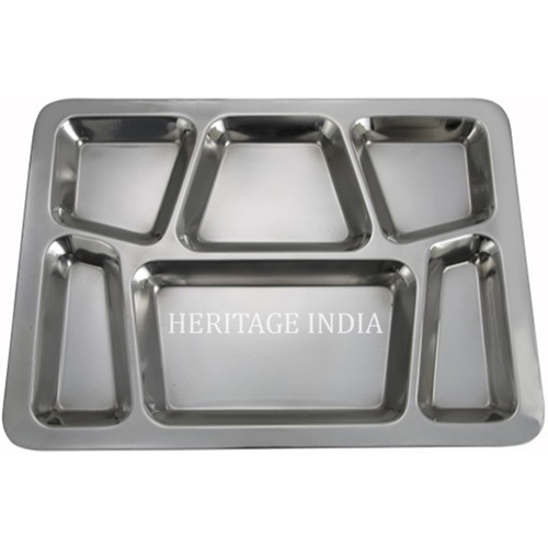 6 Compartment Serving Tray