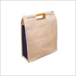 Jute Bag with Bamboo Cane Handle