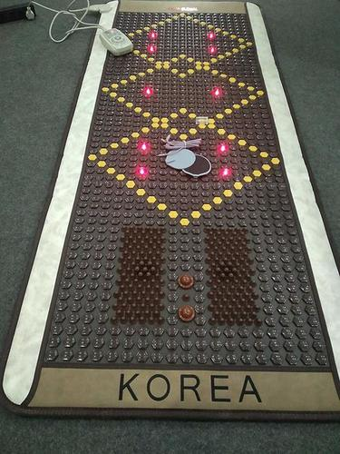 Full Body Korean Thermal Therapy Tourmaline Stone Heating Massage Mat
