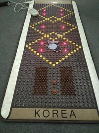 Full Body Korean Thermal Therapy Tourmaline Stone Heating Massage Mat