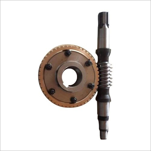 Cast Iron Worm Wheel And Shaft