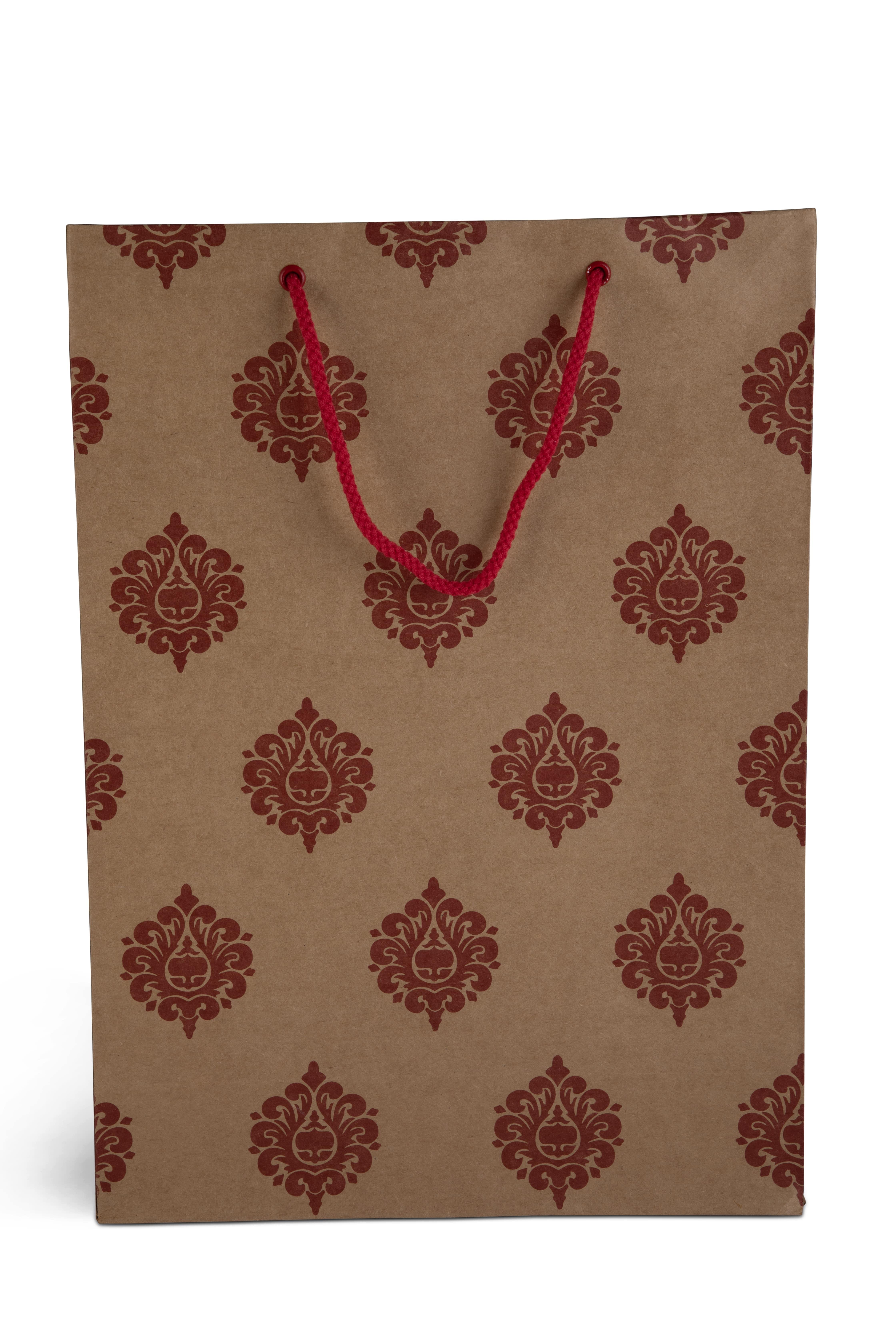 Red Designer Paper Bag