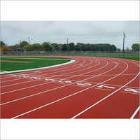 Acrylic Synthetic Athletic Track
