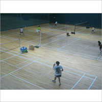 Badminton Wooden Flooring
