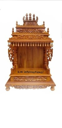 designer wooden temple