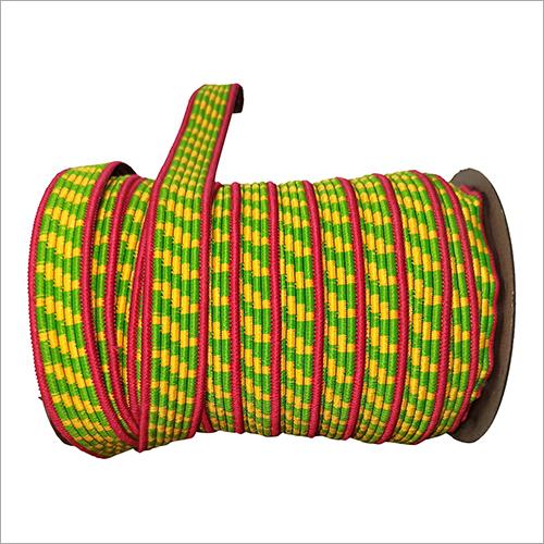 Multicolor Braided Elastic Tape