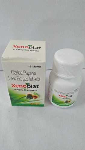 Carica Papaya Leaf Extract Tablets Xeno Plat