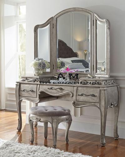 teak wood venity dressing table