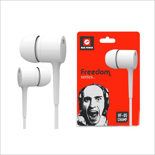 Freedom Series White Earphones