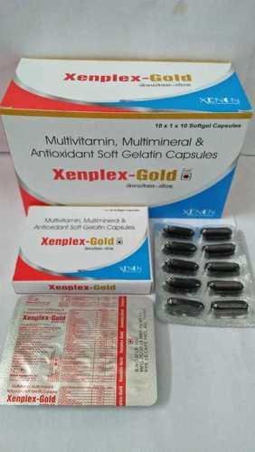 Multivitamins, Multimineral & Antioxidant Soft Gelatin Capsules