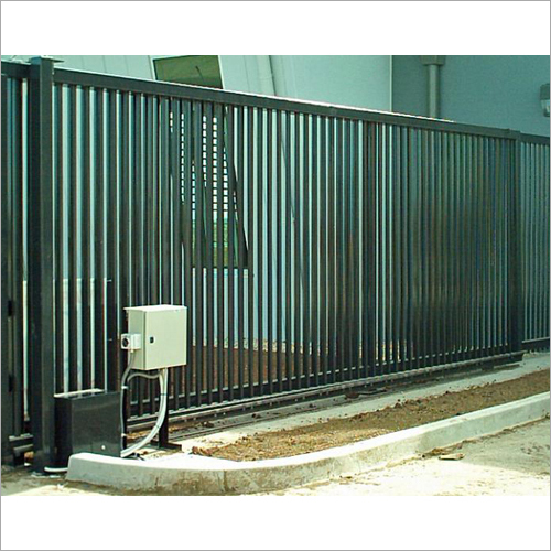 Industrial Motorised Sliding Gate
