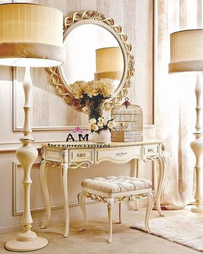 luxury white dresser table
