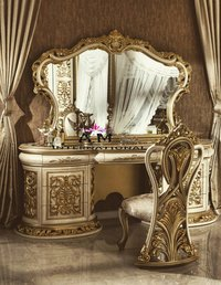 heavy carving wooden dressing table