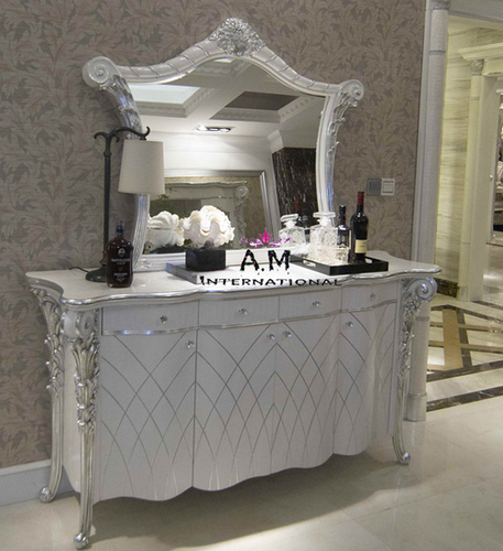 antique white dressing table