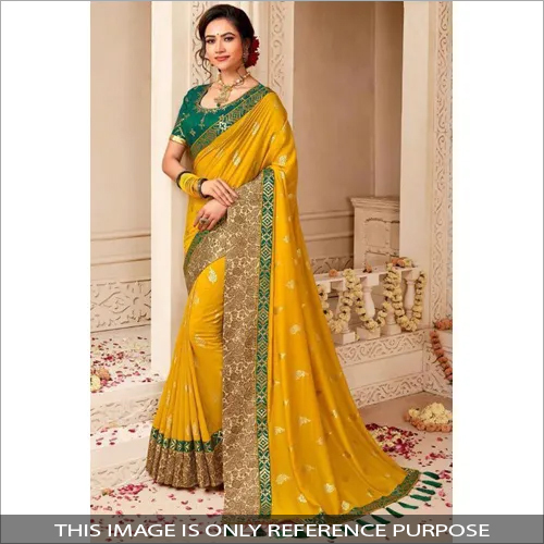 Ladies Heavy Border Saree