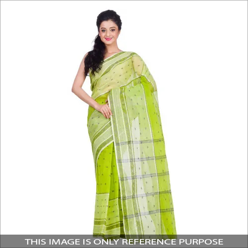 Ladies Modern Cotton Tant Saree