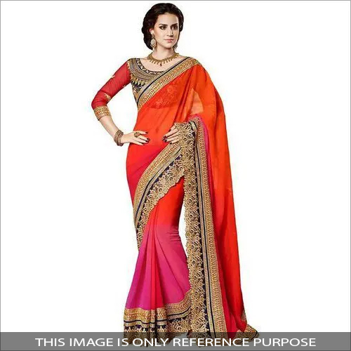 Ladies Fancy Georgette Saree